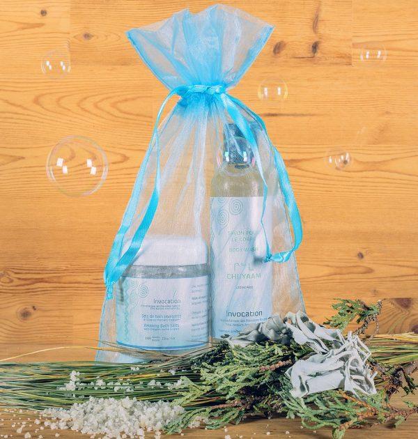Cadeau fêtes des mères - Le Gel Douche et les Sels de Bains aux essences de CHIIYAAM